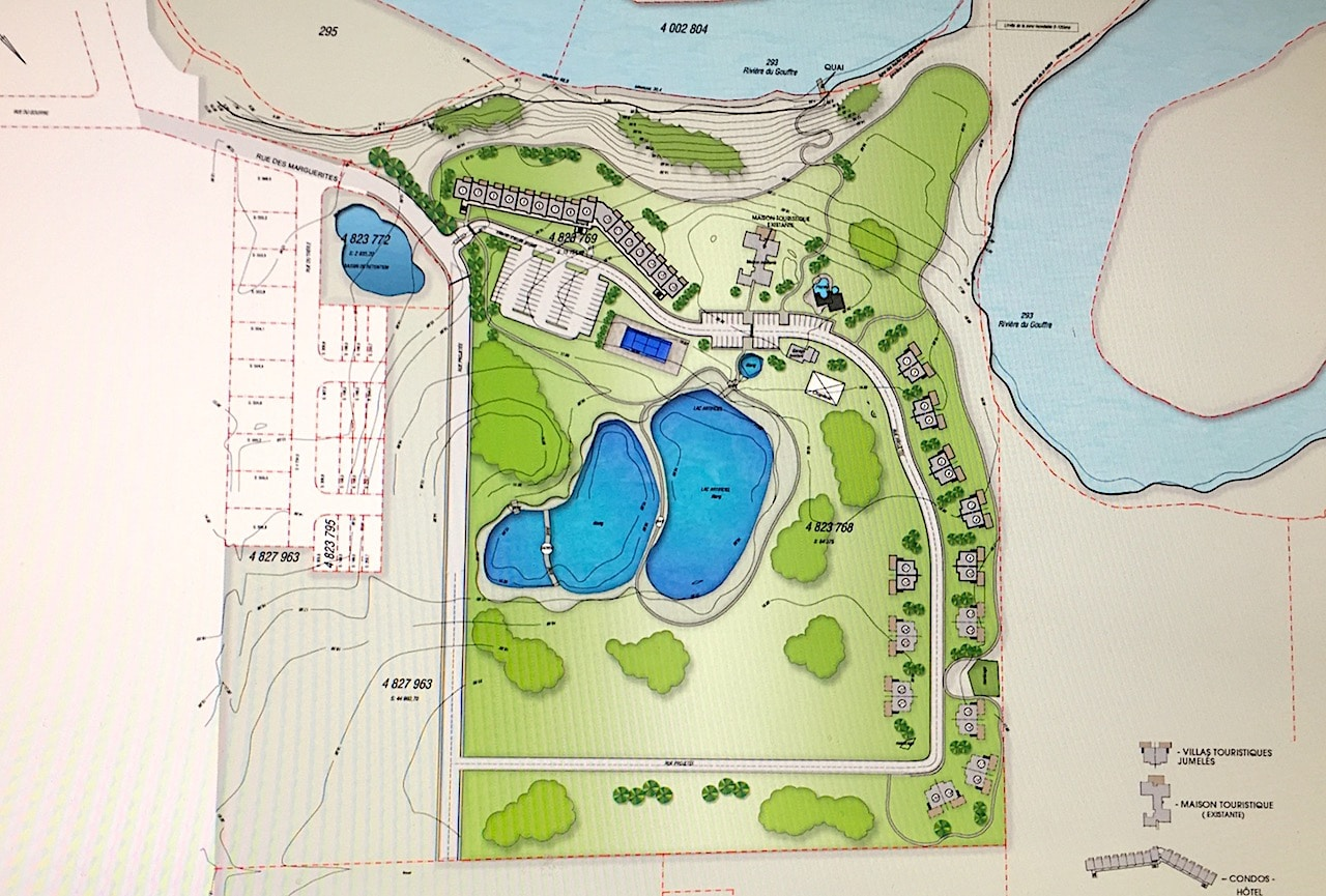 Site for development in Charlevoix